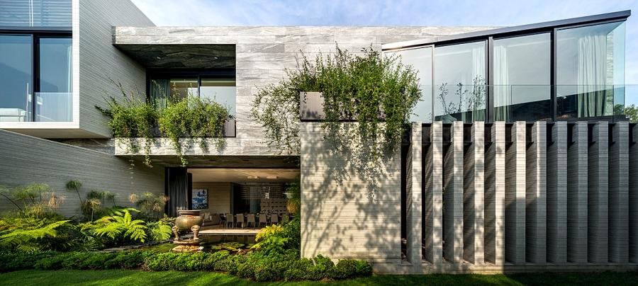 wystrój wnętrz, wnętrza, urządzanie mieszkania, dom, home decor, dekoracje, aranżacje, styl nowoczesny, modern style, ogród, garden, duże okna, big windows