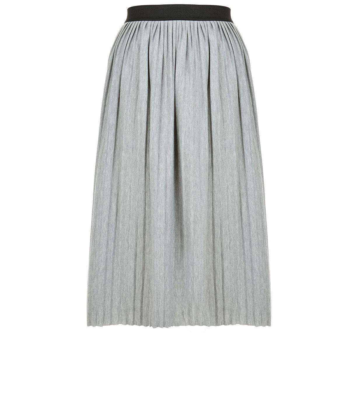 5c4e1d3151 New Look Grey Pleated Midi Skirt £12.99