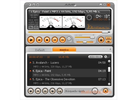 تحميل برنامج تشغيل الصوتيات Download AIMP 4.12