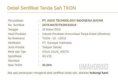 Jadwal rilis Asus Zenfone Indonesia