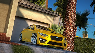 Download mod carro Subaru WRX Concept para o jogo GTA San Andreas, GTA SA PC