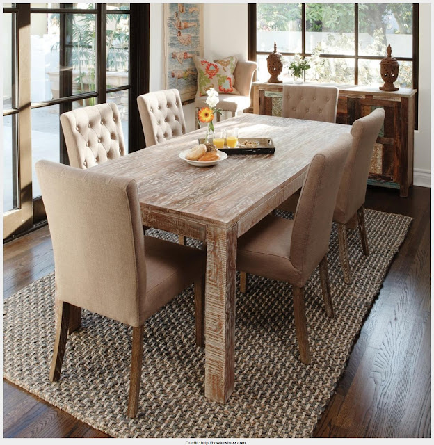 Fantastic Rustic Wood Dining Room Table Pictures