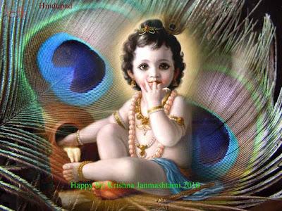Best wide screen hd Pictures of Shri Bal Krishna free gallery