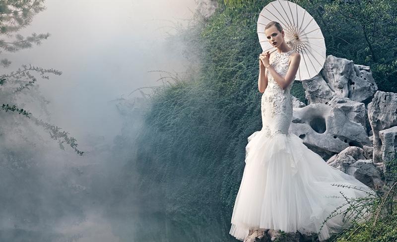 Badgley Mischka Bridal Campaign Spring 2016