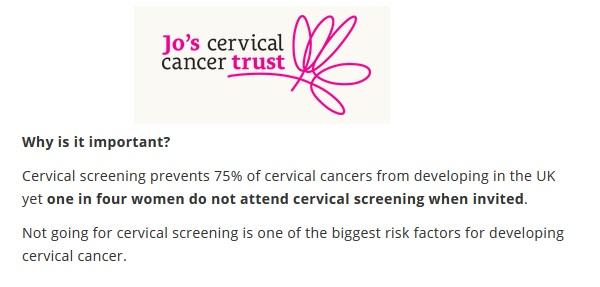Cervical Screening, Smear Test, Vulval Cancer, Cervical Cancer, CIN, VIN2, VIN3, Colposcopy, Vaginal Biopsy