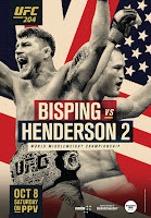 free fight video 204 Henderson Bisping