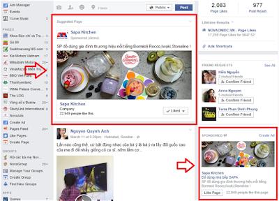 Rất nhiều ngành nghề tiến hành tiếp cận khách hàng tiềm năng qua facebook