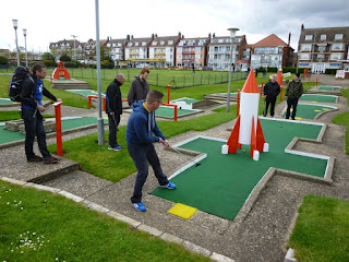 The Arnold Palmer Crazy Golf course in Skegness, Lincolnshire