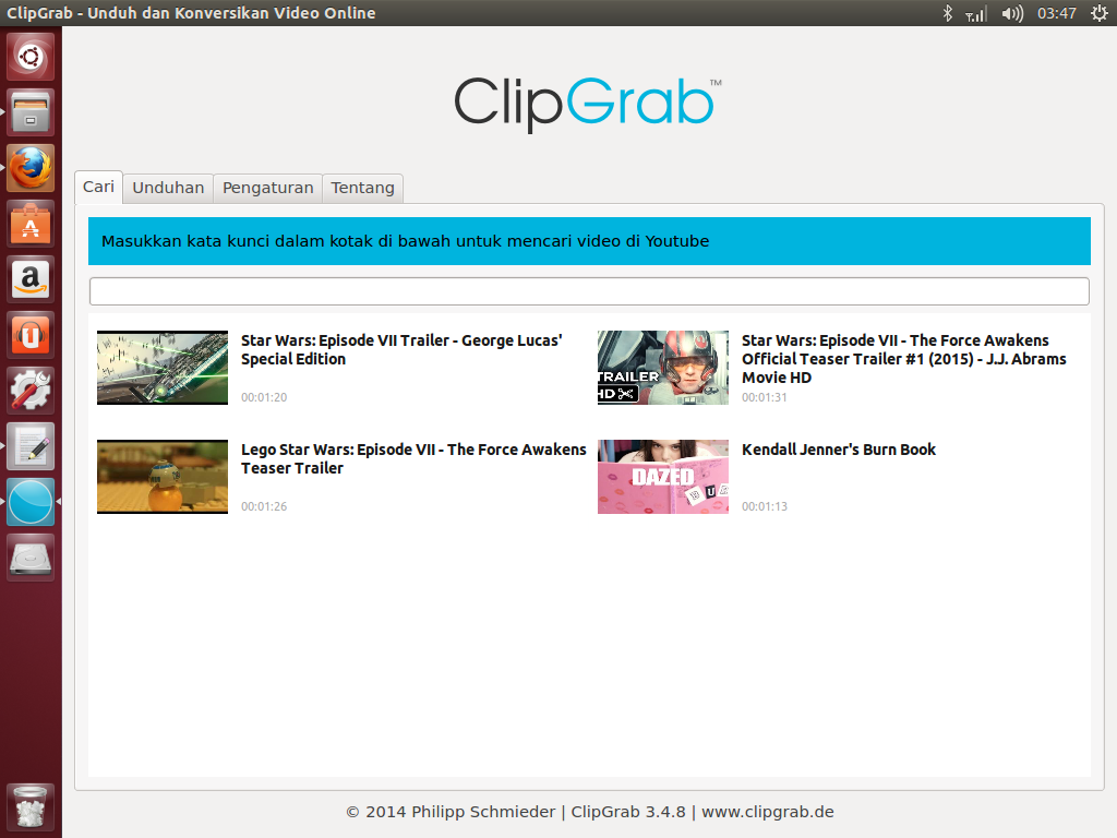 ClipGrab 3 4 8 Friendly downloader for YouTube and other