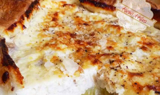 Torta salata ai finocchi