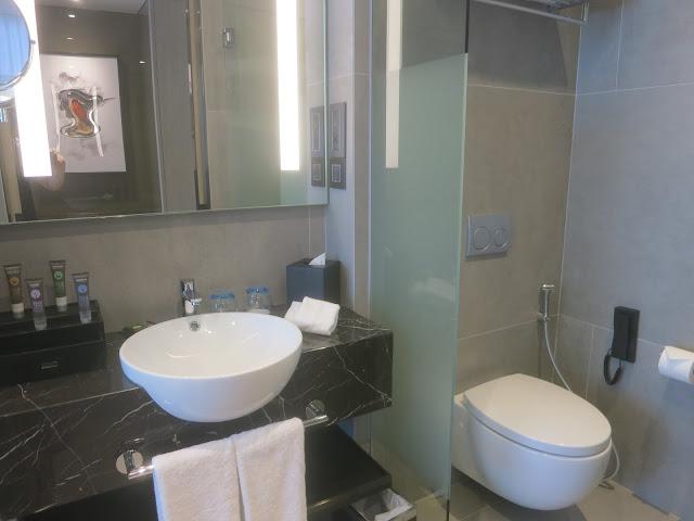 Novotel Singapore on Stevens - toilet