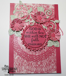 Our Daily Bread Designs Stamp Set: God Verses 2, Custom Dies: Fancy Foliage, Pretty Posies, Fancy Circles, Paper Collections: Beautiful Boho, Boho Bolds