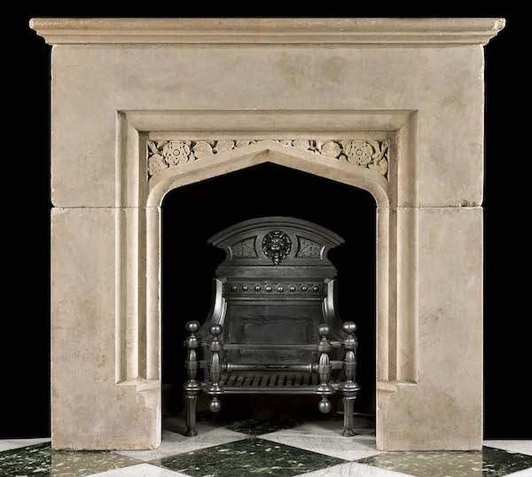 Looking for an individual style try antique fireplaces for Tudor style fireplace