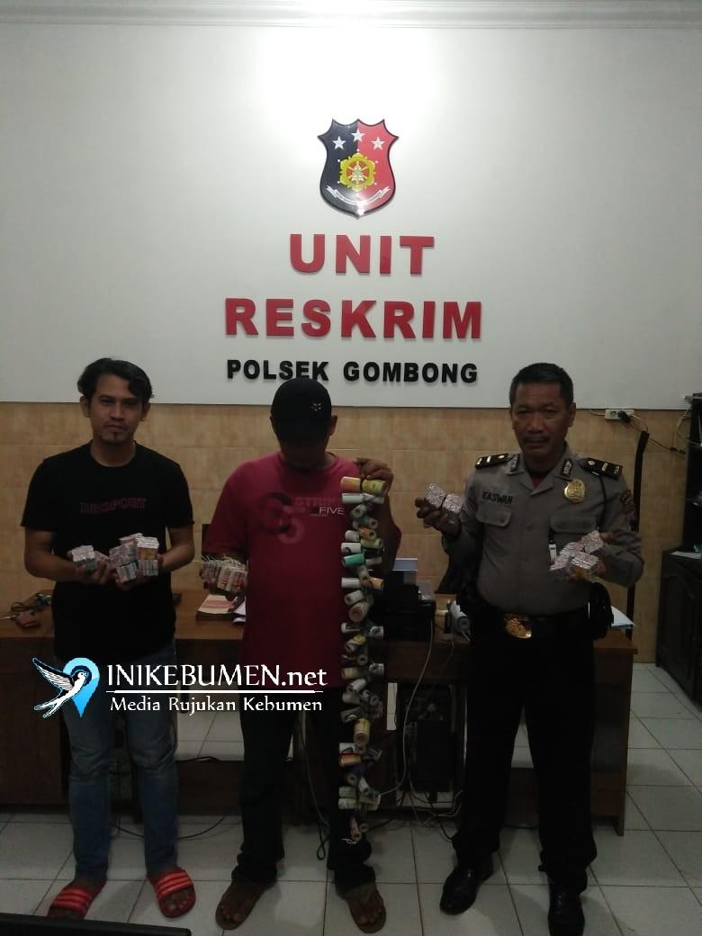 Jualan Petasan dengan cara COD, Pria di Gombong ini Ditangkap Polisi