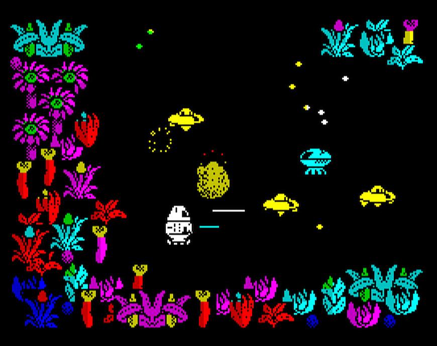 Indie Retro News: Quadron arcade game for ZX Spectrum released 30