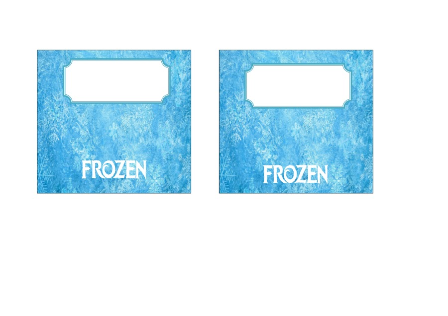 Etiquetas Bolsas chuches Frozen