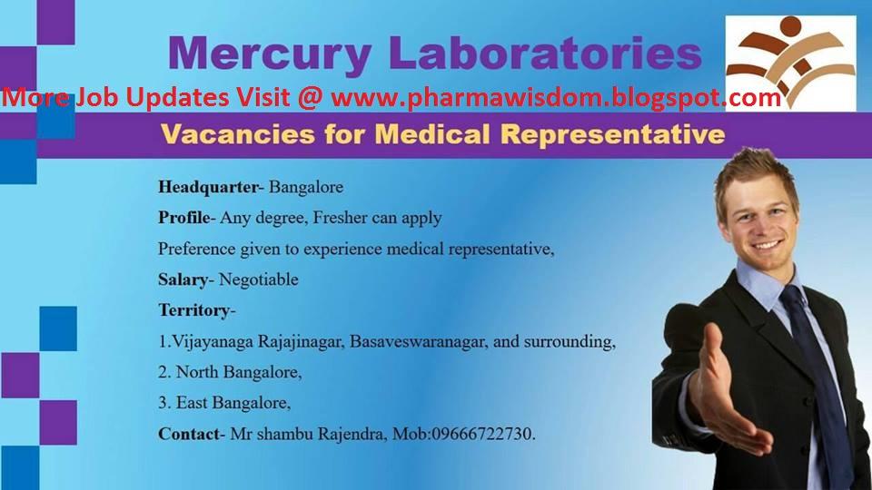 medical representative degree
