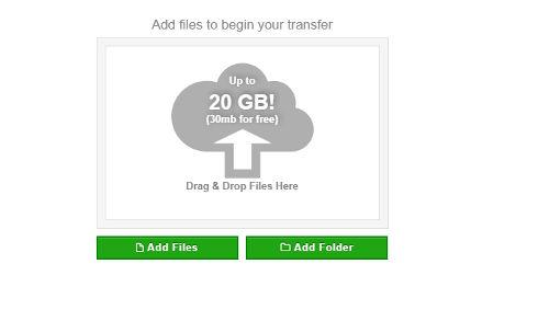 enviar arquivos por email
