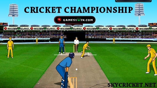 Play Online Cricket Championship Game