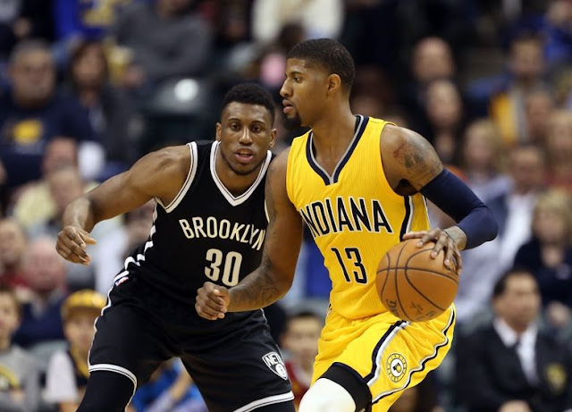Thaddeus Young & Paul George