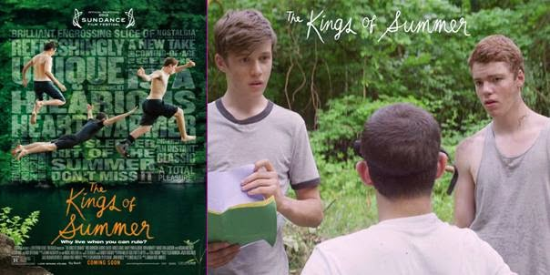 The kings of summer, película