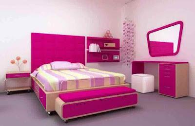 Contoh kamar Tidur Anak Minimalis