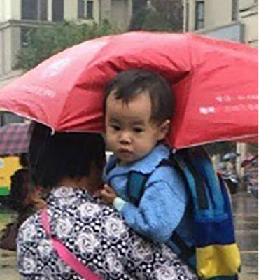 Hey Grandma, where is my umbrella?