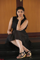 Khanishka new telugu actress in Black Dress Spicy Pics 19.JPG