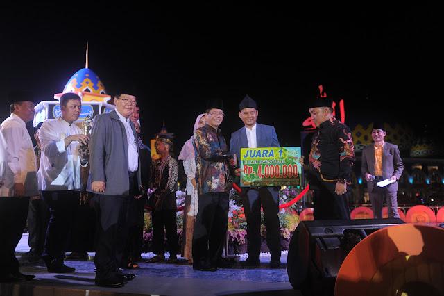 Palembang Juara Umum MTQ XXVII Tahun 2016