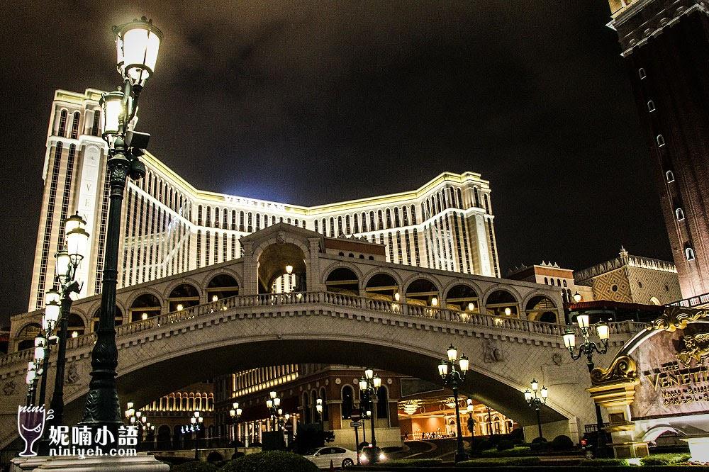 【澳門酒店推薦】澳門威尼斯人酒店。逛一天都不夠用