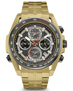BULOVA MEN'S PRECISIONIST CHRONOGRAPH 98B271