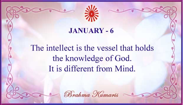 Thought For The Day January 6