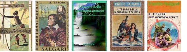 Emilio Salgari A kék hegyek kincse könyv