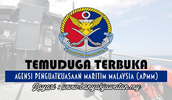 Jawatan Kosong 2017 di Agensi Penguatkuasaan Maritim Malaysia (APMM) www.banyakjawatan.my