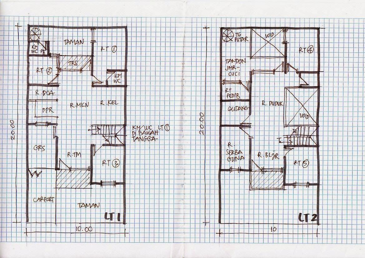 Desain Rumah Minimalis 2 Lantai Ukuran 10X15 Gambar Foto Desain