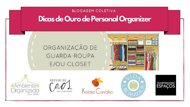 Resultados da 1ª Blogagem Coletiva de Personal Organizers!