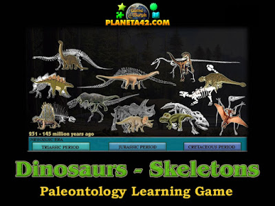 Dinosaur Skeletons Puzzle