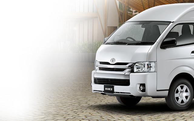 Mobil Toyota Hiace 2018 Terbaru