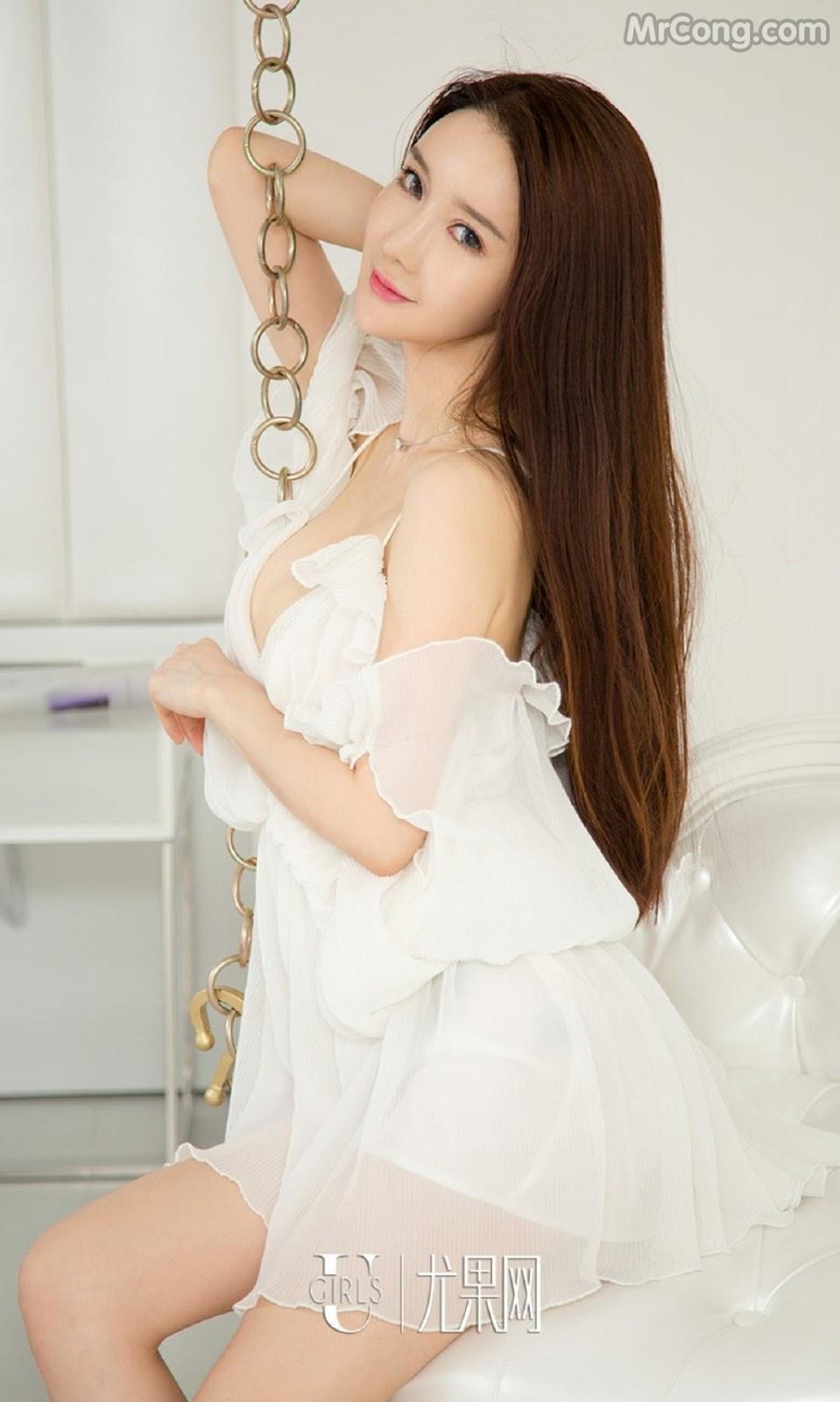 Image UGIRLS-Ai-You-Wu-App-No.733-Xia-Mei-MrCong.com-002 in post UGIRLS – Ai You Wu App No.733: Người mẫu Xia Mei (夏美) (39 ảnh)