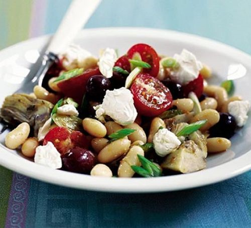 Salad Recipe Suggestions Mediterraneanstylebeansalad