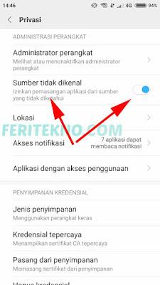 Cara Mengatasi Aplikasi Diblokir Tidak Bisa Install di HP Xiaomi 4