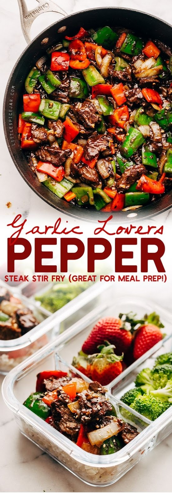 Garlic Lovers Pepper Steak Stir Fry