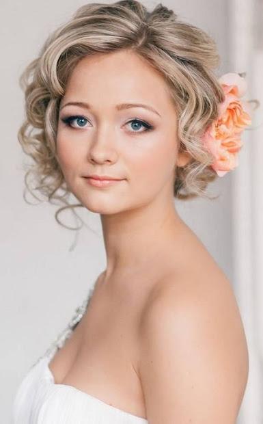 sexy wedding hairstyles short