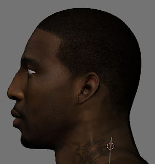 NBA 2K13 Amar'e Stoudemire HD Cyber Face Mods