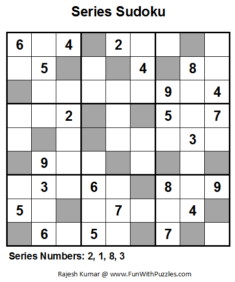 Series Sudoku (Fun With Sudoku #9)