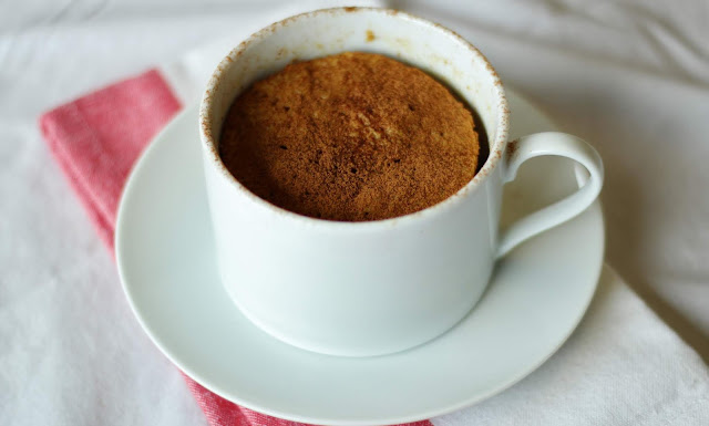 KETO Coffee Cake Mug Cake