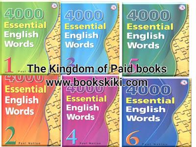 حصريا سلسلة تعليم اللغة الإنجليزية 4000 Essential English Words من الصفر الى الاحتراف