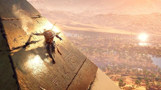 بالفيديو مقارنة لرسومات لعبة Assassin's Creed Origins على جهاز PS4 و PS4 Pro