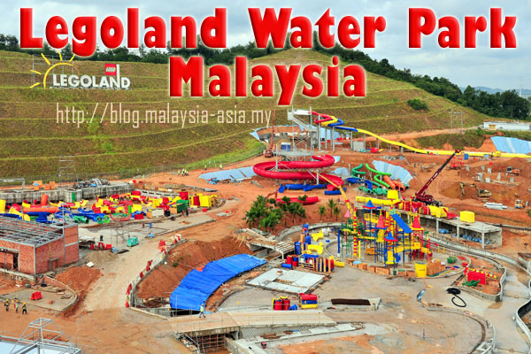 Johor Legoland Water Park Opening