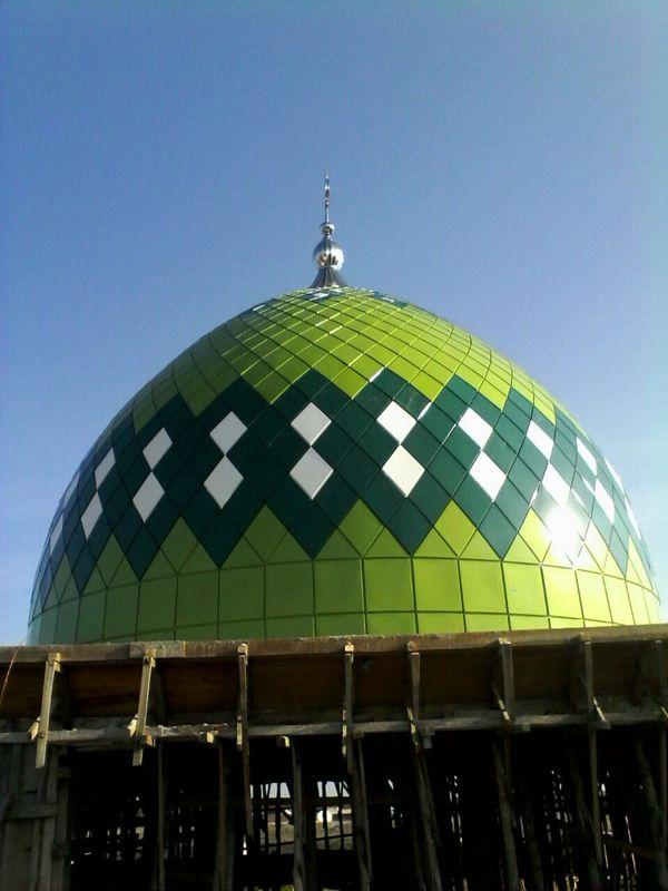 Kubah Masjid Hikmatullah Banda Aceh